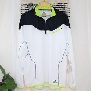 Adidas Climalite Men's White Navy Pullover 017